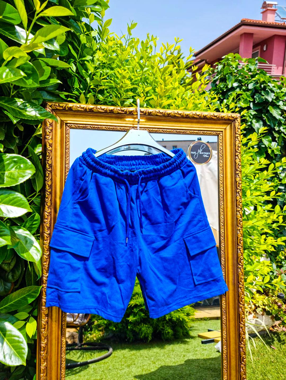 Мъжки сини къси гащи