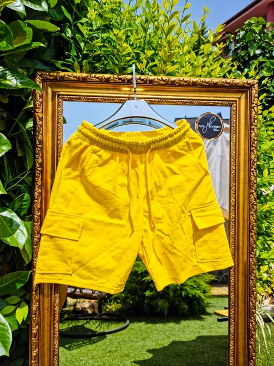 Мъжки жълти къси гащи