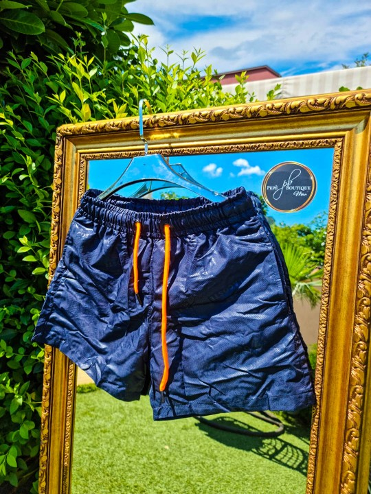 Мъжки плувни шорти в тъмно синьо