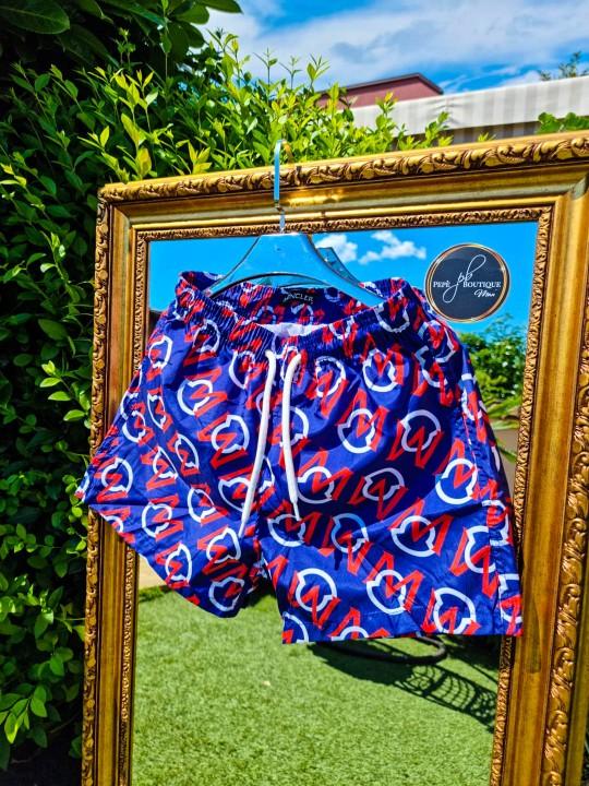 Мъжки тъмно сини плувни шорти