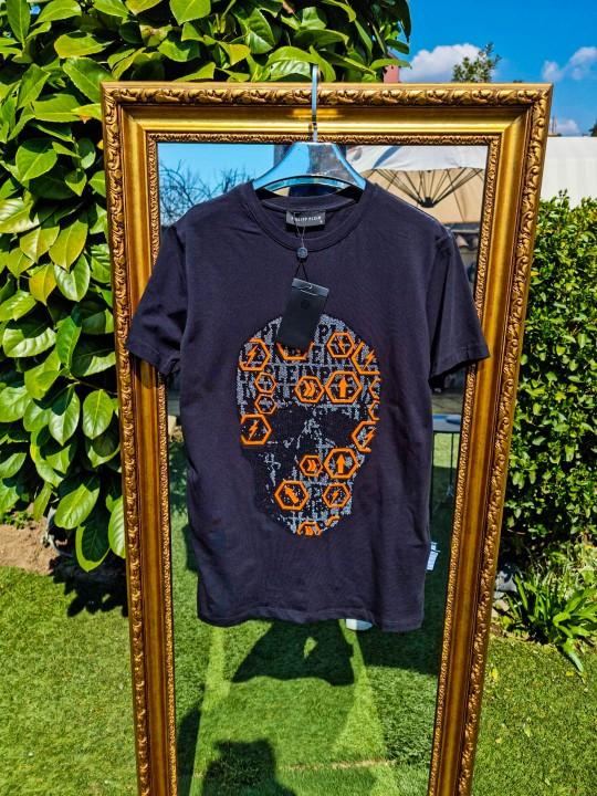 Мъжка тениска с камъни