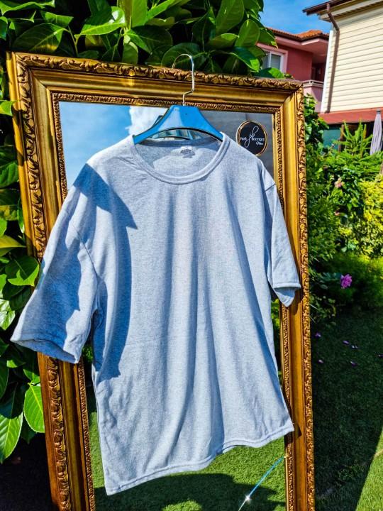 Мъжка Oversize сива тениска