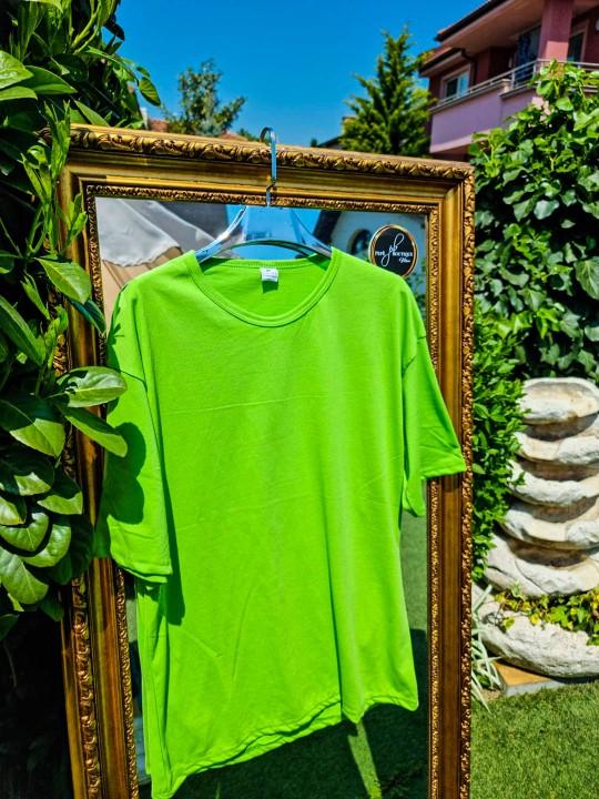 Мъжка тениска Oversize зелена