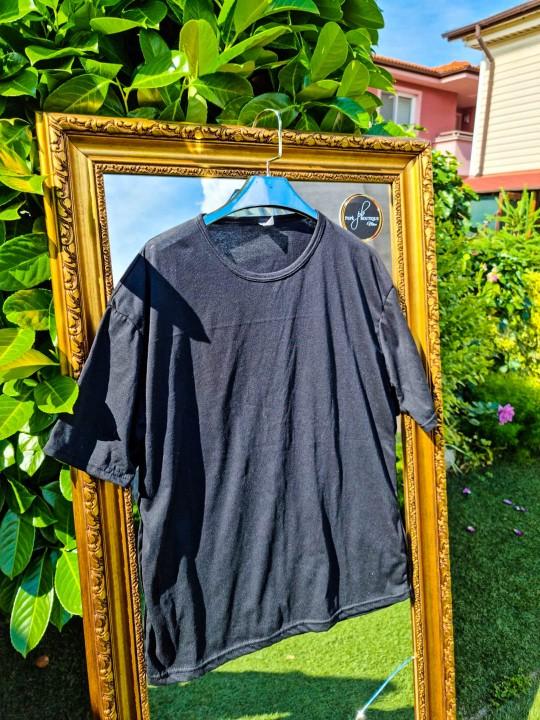 Мъжка тениска Oversize черна