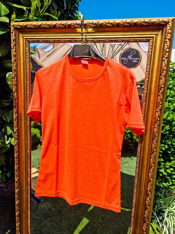 Мъжка тениска Classic оранжева