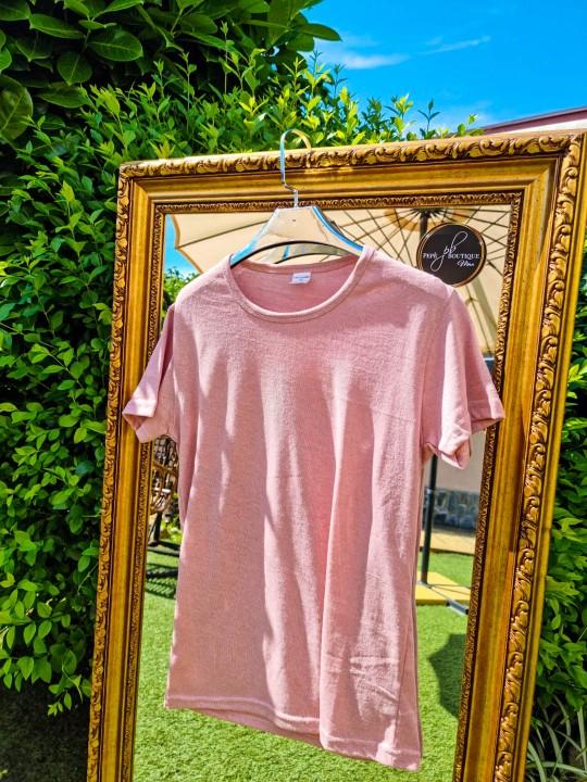 Мъжка тениска Classic розова