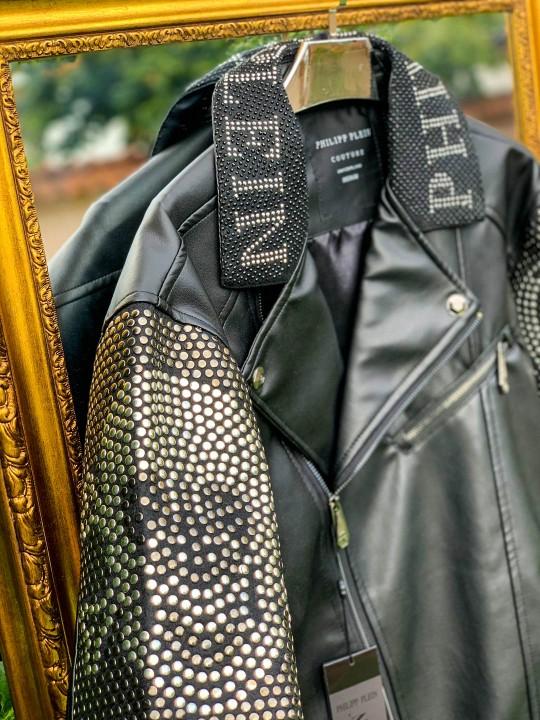 Мъжко луксозно кожено яке